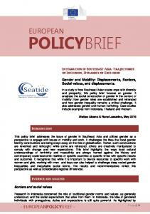POLICYBRIEF