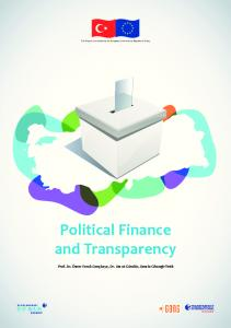Political Finance and Transparency - Transparency International ...