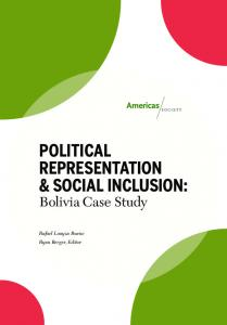 political representation & social inclusion