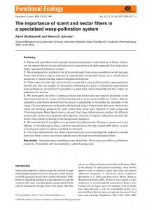 pollination system - BES journal