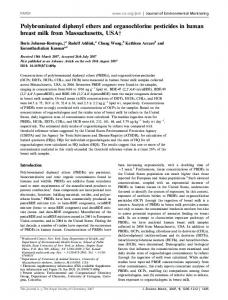Polybrominated diphenyl ethers and ... - Semantic Scholar