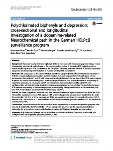 Polychlorinated biphenyls and depression - Environmental Health