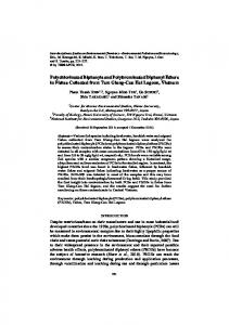 Polychlorinated Biphenyls and Polybrominated Diphenyl ... - terrapub