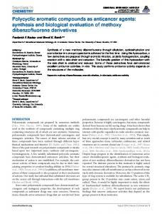 Polycyclic aromatic compounds as anticancer