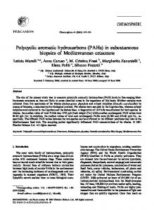 Polycyclic aromatic hydrocarbons (PAHs) - Woods Hole ...