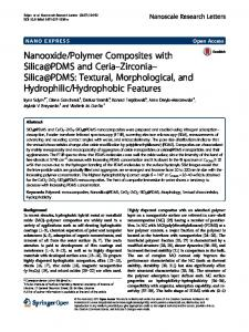 Polymer Composites with Silica