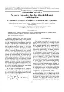 Polymeric Composites Based on Alicyclic Polyimide