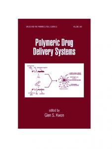 Polymeric Drug Delivery Systems