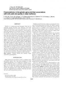 Polymorphisms in the ghrelin gene and their associations with milk ...