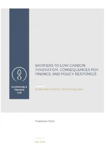 Polzin 2016 Barriers to low-carbon innovation, consequences for ...