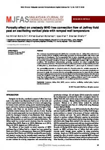 Porosity effect on unsteady MHD free convection flow