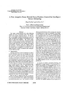 position control for intelligent robot
