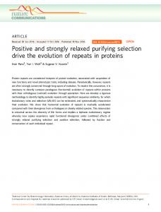Positive and strongly relaxed purifying selection drive the evolution of