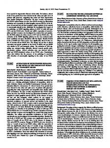 Possible involvements of beta-amyloid, insulin signaling and tau ...