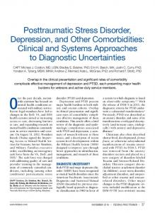 Posttraumatic Stress Disorder, Depression, and Other ...