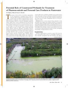 Potential Role of Constructed Wetlands for Treatment of ... - NYWEA
