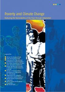 Poverty and Climate Change