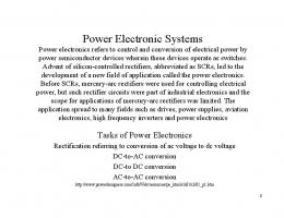 Power Electronic Systems