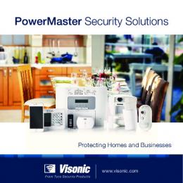PowerMaster Security Solutions - Wireless Home Security ...