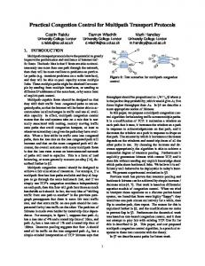 Practical Congestion Control for Multipath Transport Protocols