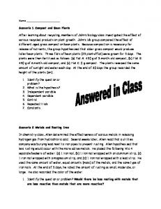 Practice Test Answers
