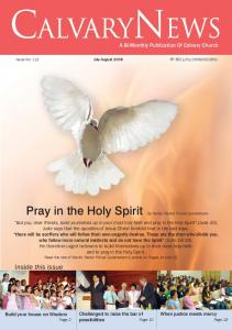Pray in the Holy Spirit - Calvary Church