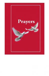 Prayer Book - Version 12 - Christian Word Ministries
