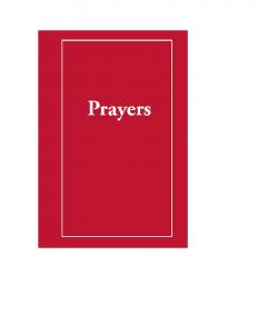 prayer on the Book - Christian Word Ministries