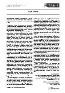 Precipitation: Theory, Measurement and ... - Wiley Online Library