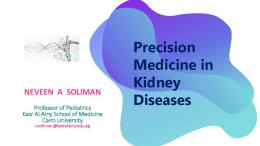 Precision Medicine in Kidney Diseases