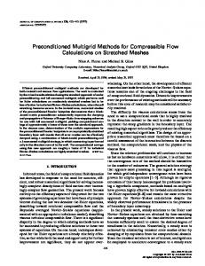 Preconditioned Multigrid Methods for Compressible Flow ...