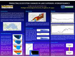 predicting ecosystem changes in lake superior: hydrodynamics