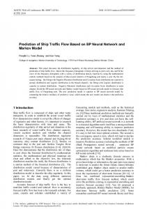 Prediction of Ship Traffic Flow Based on BP Neural Network and ...
