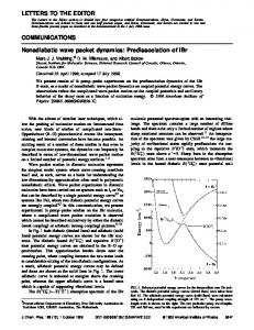 Predissociation of IBr LETTERS TO THE EDITOR