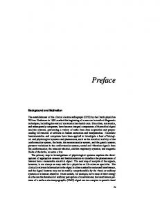 Preface - Department of Electrical and Computer Engineering