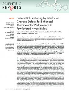 Preferential Scattering by Interfacial Charged Defects ... - BioMedSearch