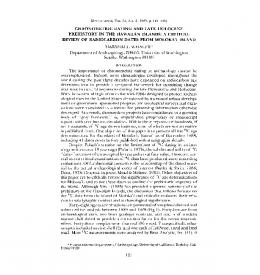 PREHISTORY IN THE HAWAIIAN ISLANDS - Journals at the ...