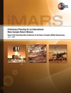 Preliminary Planning for an International Mars ... - mepag - NASA