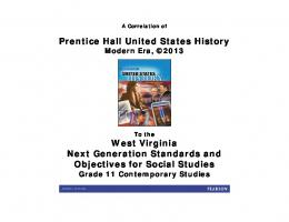 Prentice Hall United States History West Virginia Next ... - Pearson