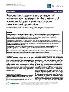Preoperative assessment and evaluation of ... - BioMedSearch
