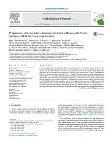 Preparation and characterization of a bacterial cellulose/silk ... - Core