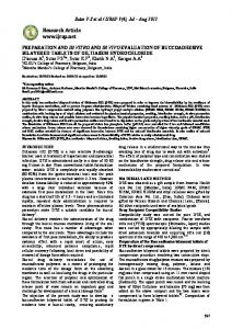preparation and in vitro and in vivo evaluation of buccoadhesive ...