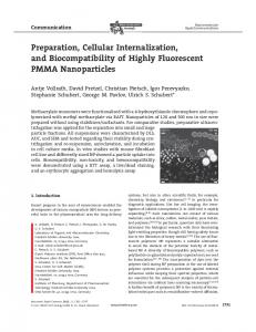 Preparation, Cellular Internalization, and ...