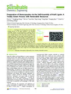 Preparation of Nanocapsules via the Self ... - ACS Publications