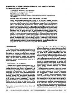 Preparation of nickel nanoparticles and their catalytic activity in the ...