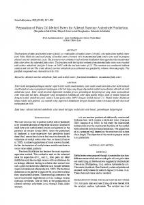 Preparation of Palm Oil Methyl Esters for Alkenyl Succinic ... - UKM