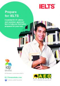 Prepare for IELTS - AEO