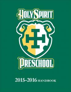 Preschool - Holy Spirit Preparatory School