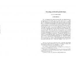 Preventing and Rebuilding Failed States - SSRN papers