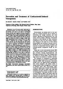 Prevention and Treatment of Corticosteroid-Induced Osteoporosis